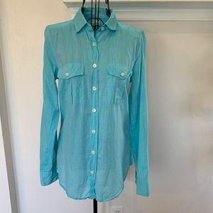 J. Crew The Perfect Shirt Long Sleeve Button Down